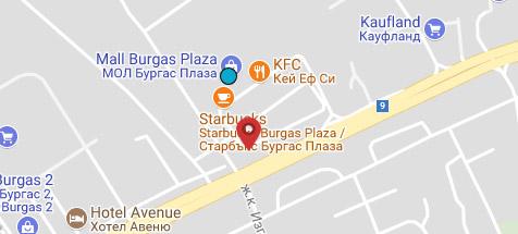 Бургас - Plaza Mall