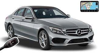 Mercedes C-Class + GPS