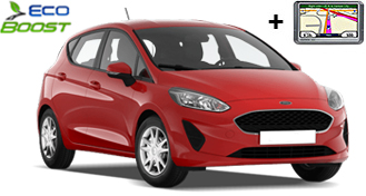 Ford Fiesta EcoBoost + GPS HDMR