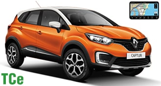 Renault Captur TCe + GPS CFMR