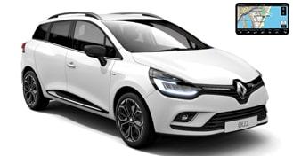 Renault Clio IV универсал + GPS EWMR