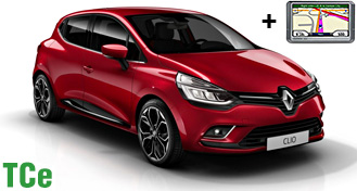 Renault Clio IV TCe / Ford Fiesta + GPS HDMR