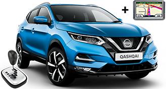Nissan Qashqai + NAVI