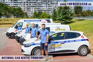 Прокат Вантажних мікроавтобусів в Бургасі від Top Rent A Car